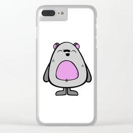 Oso Clear iPhone Case