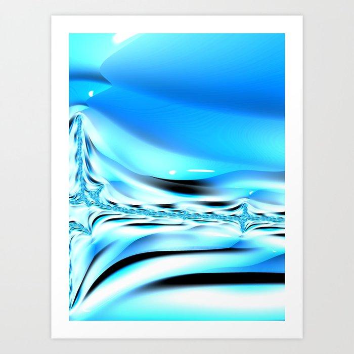 The Blues #2 Art Print