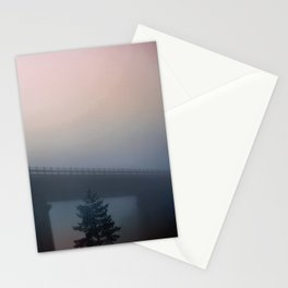 Misterious bridge Stationery Cards