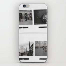 Black and White Memories iPhone Skin