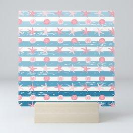 AFE Starfish Pattern Mini Art Print