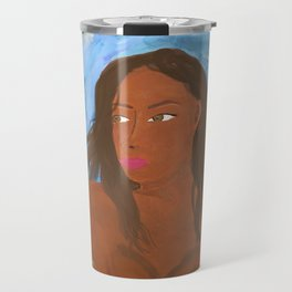 Goddess of Flowers Travel Mug