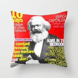 COSMARXPOLITAN, Issue 1 Throw Pillow