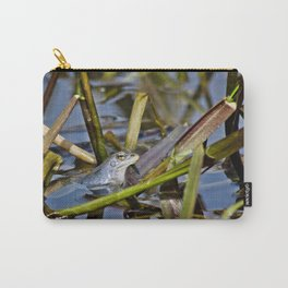 Blue Frogs 02 - Rana arvalis Carry-All Pouch