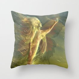 buterfly Throw Pillow
