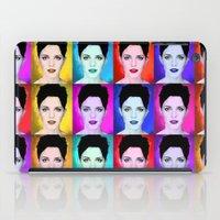 emma watson iPad Cases featuring Emma Watson by Joe Hilditch
