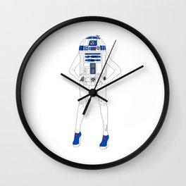 Girl R2-D2 Wall Clock