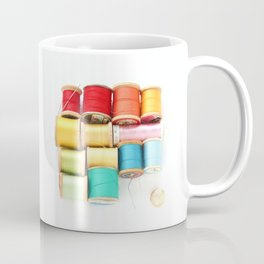 Colorful Needle and Thread Coffee Mug