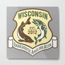 WDAA Logo Metal Print