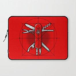 Vitruvian Swiss Knife Laptop Sleeve