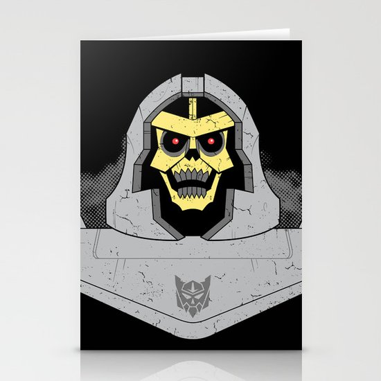 Skeletron Stationery Cards