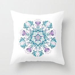 Mandala Ethnic Papua Throw Pillow