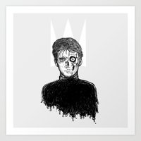 hamlet Art Prints featuring Hamlet by Francis Willmann