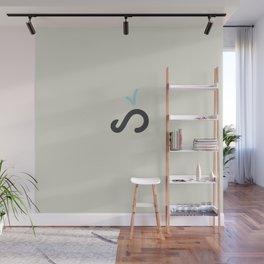 Infinite Whale Wall Mural