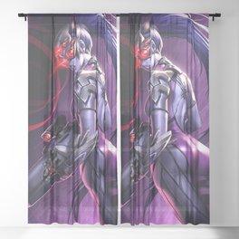 widowmaker Sheer Curtain