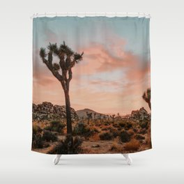 Joshua Tree IX / California Desert Shower Curtain