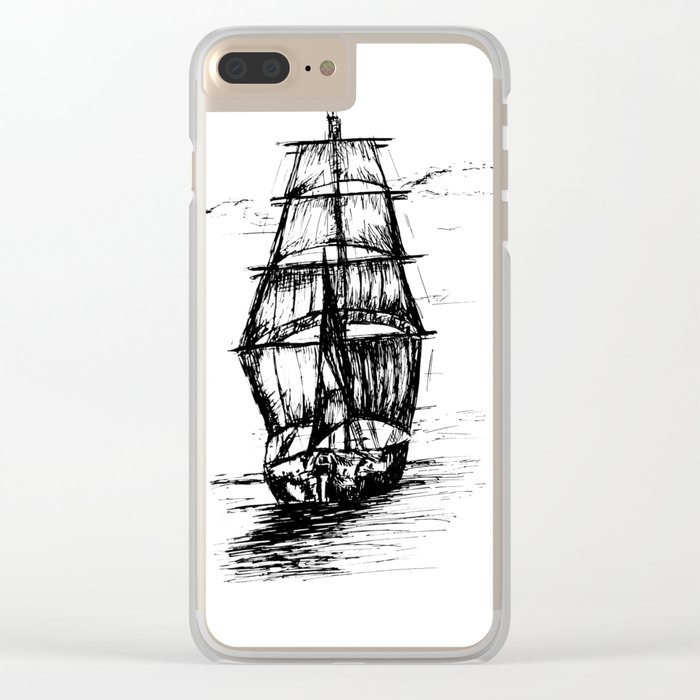 Ship Clear iPhone Case