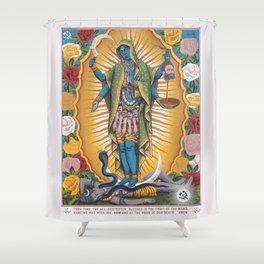 Hindu - Kali 6 Shower Curtain