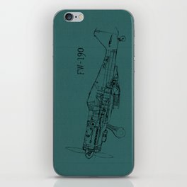 FW - 190 (Colour) iPhone Skin