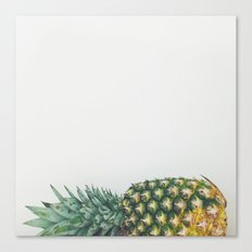 Fallen Pineapple Canvas Print