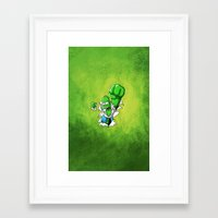homer Framed Art Prints featuring MAD HOMER by Ylenia Pizzetti