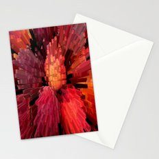 Columns of Peach Stationery Cards