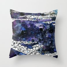 tears in the galaxy Throw Pillow