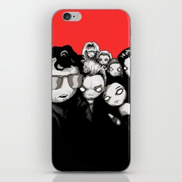Lost Plushies iPhone Skin