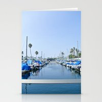 boats Stationery Cards featuring Boats by Tracy Trinh