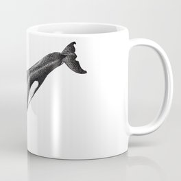Orca killer whale ink art Coffee Mug