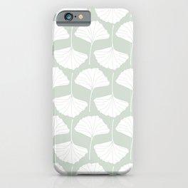 Ginkgo Leaves Pattern iPhone Case