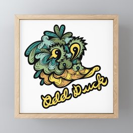 Odd Duck Framed Mini Art Print