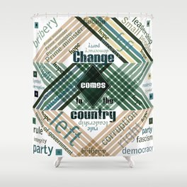 Time to change Shower Curtain