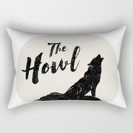 Brendan James, The Howl Rectangular Pillow