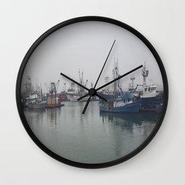Fogged In Wall Clock