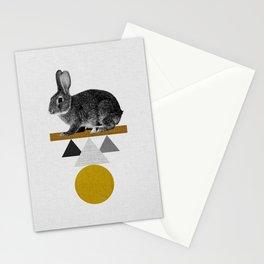 Tribal Rabbit Stationery Cards