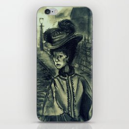 Whitechapel by Gaslight (First Version) iPhone Skin