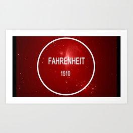 Fahrenheit 1510 Logo Art Print