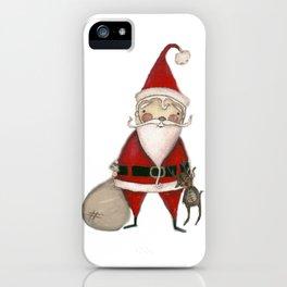 Ho Ho Ho - Santa art iPhone Case