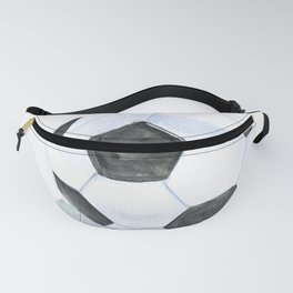 Soccer Ball Watercolor Fanny Pack