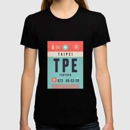 Luggage Tag A - TPE Taipei Taiwan T-shirt