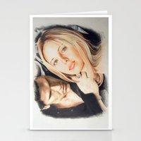 buffy the vampire slayer Stationery Cards featuring Buffy - The Vampire Slayer by ChiaraG27