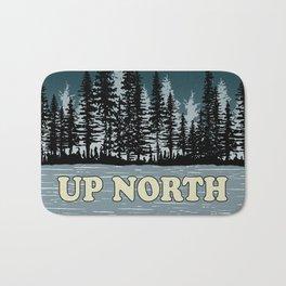 Up North at Night Bath Mat