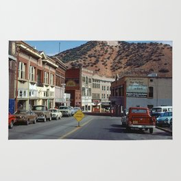 Downtown Bisbee in days gone by, 1972 Rug