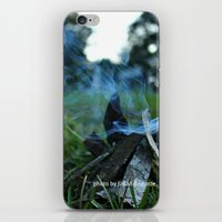 camp iPhone & iPod Skins featuring camp by jillian bogarde