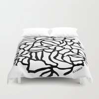 globe Duvet Covers featuring Globe by Vered