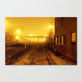 Railroads Canvas Print