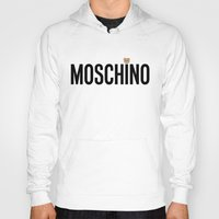 moschino Hoodies featuring Teddy Bear, Moschino Toy by cvrcak