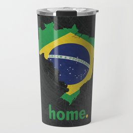 Brazil Proud Travel Mug