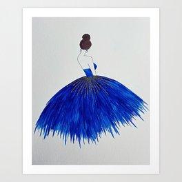 Belle of the Ball Art Print